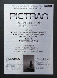 ピクトラン ヘアライン/A4/2枚入り